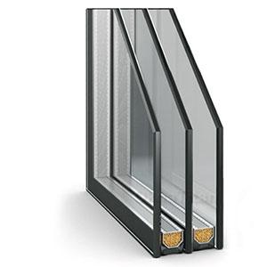 Стеклопакет окна ПВХ