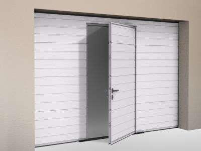 Дополнительные аксессуары секционных гаражных ворот